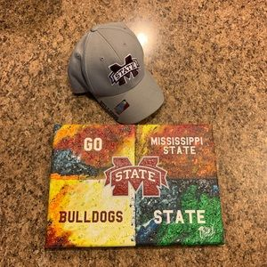 NEW Warhol Ms State Canvas & Hat